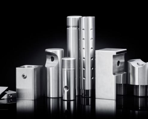 CNC obdelava kovin, nerjaveče jeklo, inox, Griffing