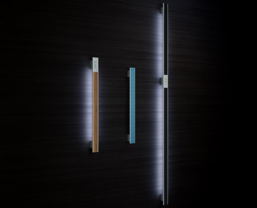 Vision Line C class inox ročaji za vhodna vrata - Vision Line C class inox door handles for front doors - Vision Line C class Edelstahl-Türgriffe für Eingangstür - Griffing