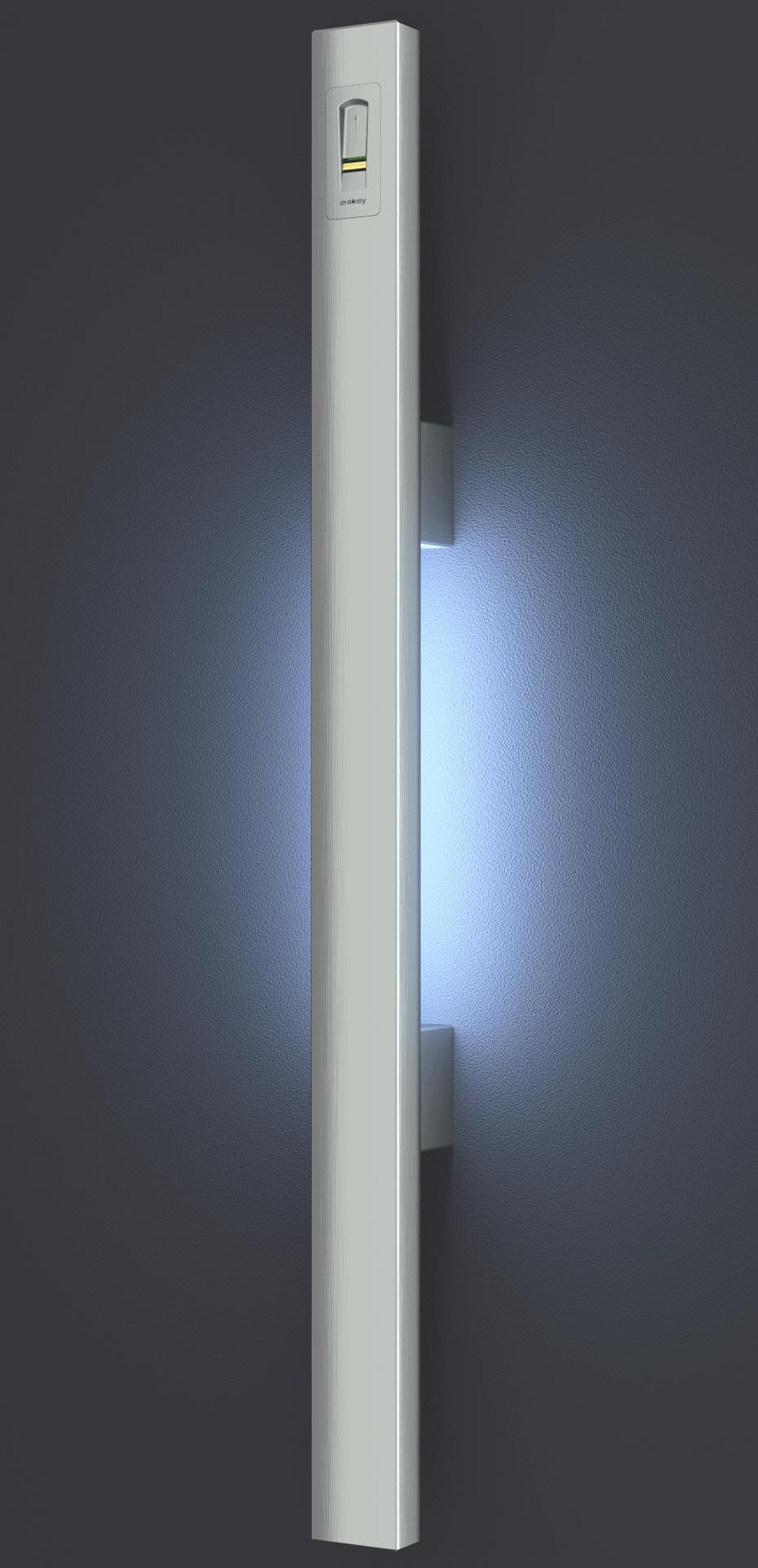 Griffingov ročaj GPR-CPO-LED iz linije Prime Line-inox ročaji za vhodna vrata