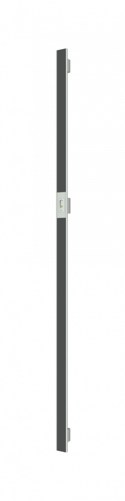 Vision Line C class inox premium ročaji za vhodna vrata z odprtimi robovi, z aluminijastim vstavkom in čitalnikom prstnih odtisov_Griffing