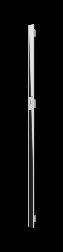 Vision Line C class inox premium ročaj za vhodna vrata s steklenim vstavkom in čitalnikom prstnih odtisov_Griffing