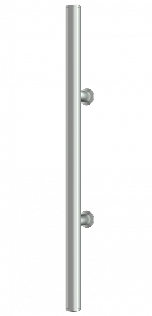 Griffingovi ročaji za vhodna vrata iz Economy Line z dodano rozeto na nosilcu