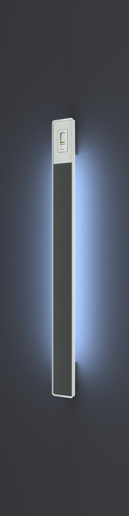 Premium ročaji z LED svetili in čitalnikom prstnih odtisov za vhodna vrata - premium door handles with LED lights and fingerprint reader for front doors - Premium Türgriffe (Türbeschläge) mit LED und Fingerabduckleser für Eingangstür - Griffing