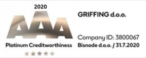 Platinasta odličnost - Griffing