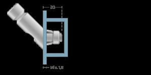 VPA vpetje za ALU profile - VPA fasteners for ALU profile - VPA Einspannungen für ALU-Profile - Griffing