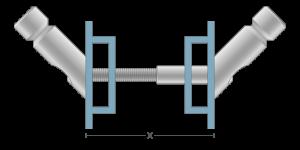 VPO vpetje za ALU panele - VPO fasteners for ALU panels - VPO Einspannungen für ALU-Paneele - Griffing