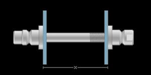 VRO vpetje za ALU panele - VRO fasteners for ALU panels - VRO Einspannungen für ALU-Paneele - Griffing