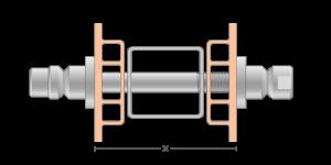 Vpetje VRO za PVC profile za inox ročaje za vhodna vrata-Griffing
