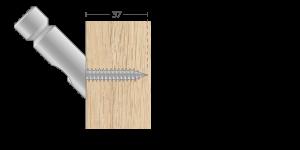 VPU vpetje za lesene panele - VPU fasteners for wooden panels - VPU Einspannungen für Holz-Paneele - Griffing