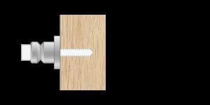 VRU vpetje za lesene panele - VRU fasteners for wooden panels - VRU Einspannungen für Holz-Paneele - Griffing