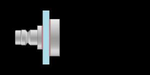 VRMS vpetje za kombinacije stekla in ALU panelov - VRMS fasteners for a combination of glass and ALU panels - VRMS Einspannungen für Kombination aus Glas und Alu-Paneele - Griffing