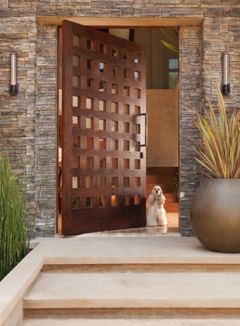 Po meri narejena vhodna vrata-vir-Pinterest