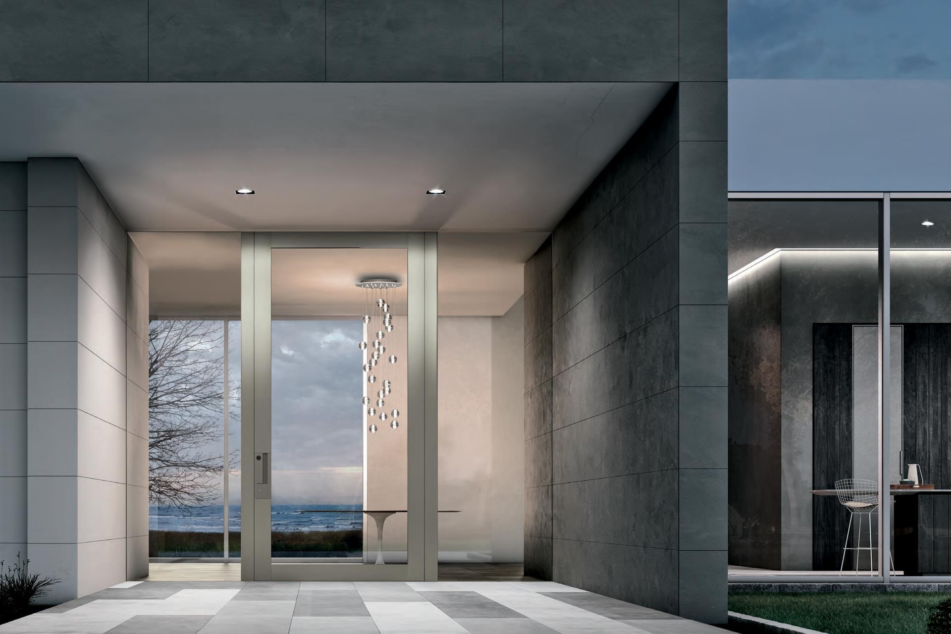 Steklena vhodna vrata-vir-Oikos Venezia