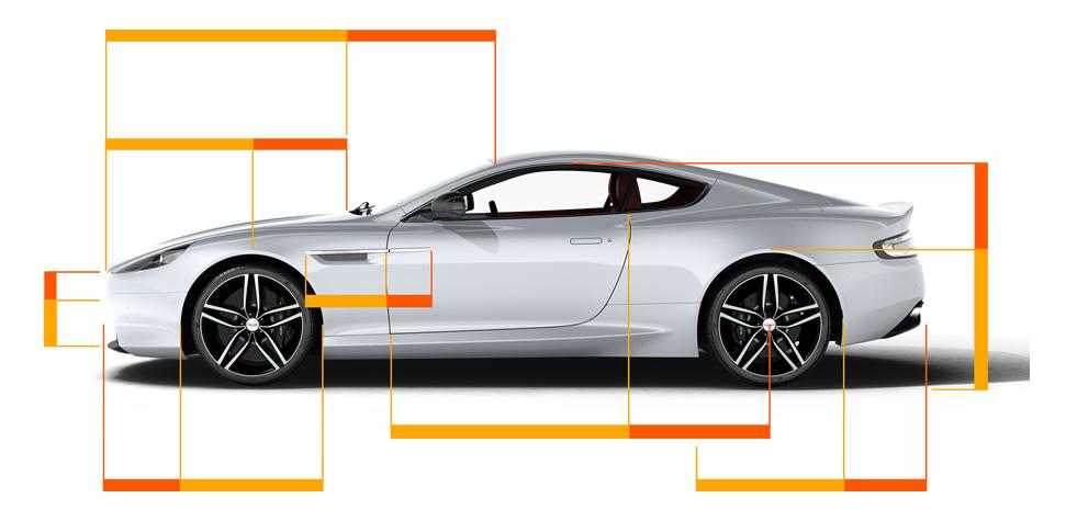 Zlati rez v avtomobilski industriji-vir fotografije Phimatrix