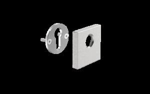 RKV-kvadratna rozeta za ključavnico-square escutcheon for lock-Griffing