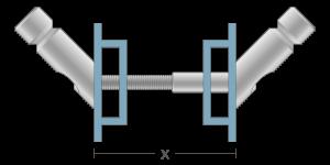 VPO vpetje za ALU profile- fastener for ALU profiles - Befestigung fuer ALU-Profile - Griffing