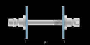 VRO vpetje za ALU panele- fastener for ALU panels - Befestigung fuer ALU-Paneele - Griffing
