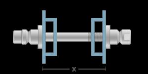 VRO vpetje za ALU profile- fastener for ALU profiles - Befestigung fuer ALU-Profile - Griffing