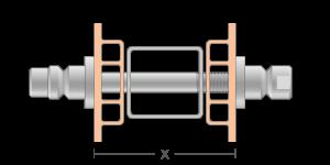 VRO vpetje za PVC profile- fastener for PVC profile - Befestigung fuer PVC Profile - Griffing
