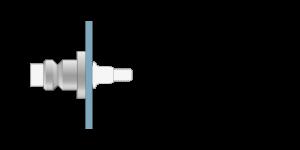 VRU vpetje za ALU panele- fastener for ALU panels - Befestigung fuer ALU-Paneele - Griffing