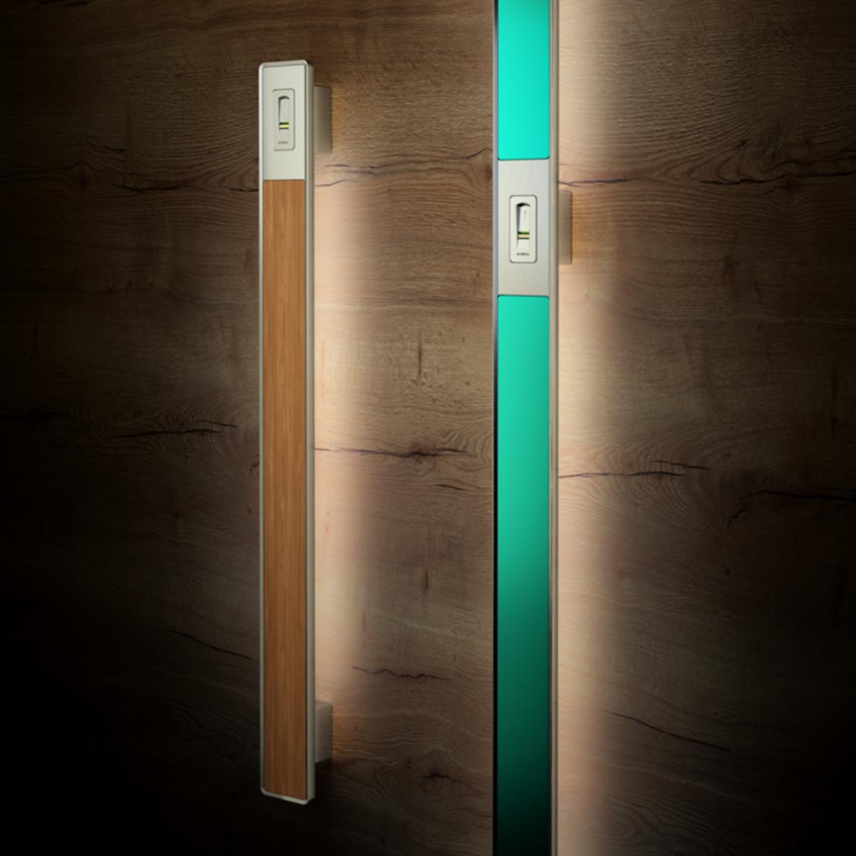 Coloured door handles - Griffing
