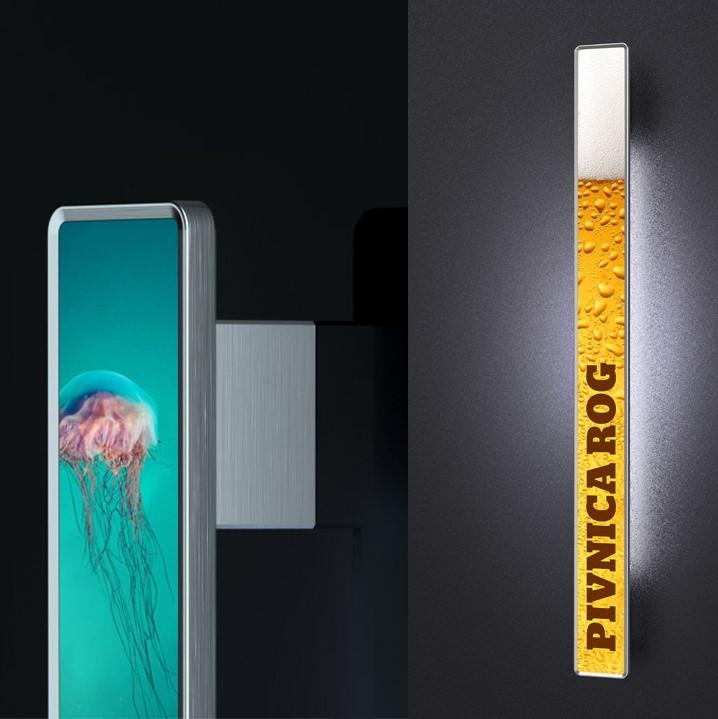 Tisk na ročaje za vhodna vrata - Digital printed door handles - Griffing